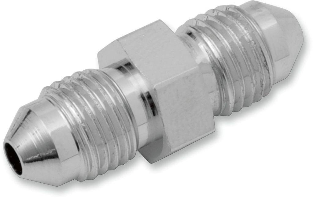 Clear Stainless Steel Braided Brake Line Chrome Plated Ends 35